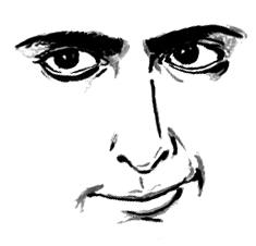 ジャド・ネルソン 似顔絵 描き方