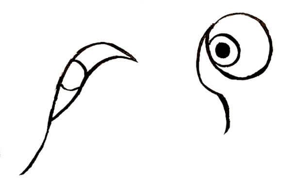 『ひょっとこ』 和風・浮世絵風イラスト 描き方 Kenji Iwasaki 岩崎健児