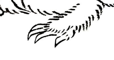 『ねずみ』 和風・浮世絵風イラスト 描き方 Kenji Iwasaki 岩崎健児