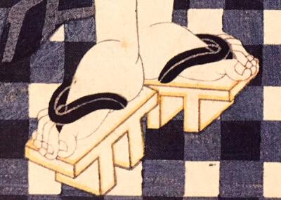 『下駄』 和風・浮世絵風イラスト 描き方 Kenji Iwasaki 岩崎健児