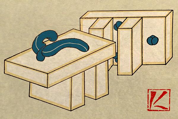 下駄 和風・浮世絵風イラスト 描き方 Kenji Iwasaki 岩崎健児