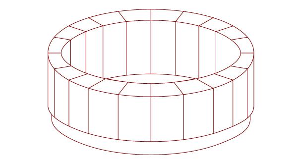 『桶』 『木桶』 和風・浮世絵風イラスト 描き方 Kenji Iwasaki 岩崎健児