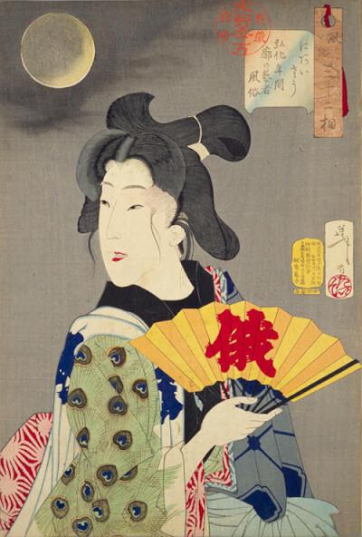 『扇子』 和風・浮世絵風イラスト 描き方 Kenji Iwasaki 岩崎健児
