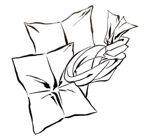 筆ペン 浮世絵 和風 パターン 描き方