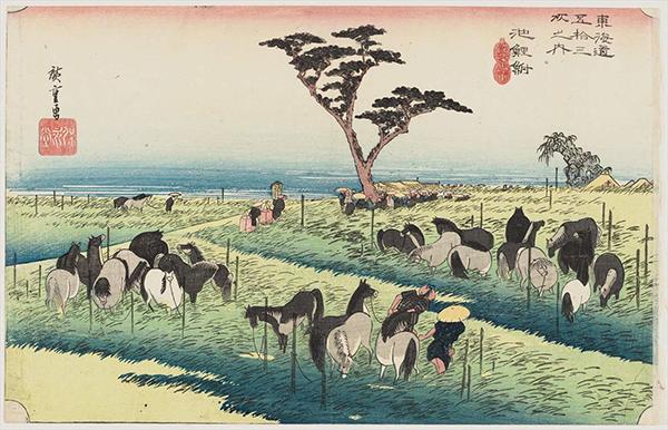 馬 和風・浮世絵風イラスト 描き方 Kenji Iwasaki 岩崎健児