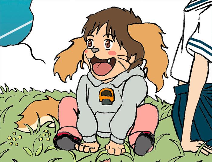 ★ 映画 未来のミライ 浮世絵 イラスト 似顔絵 Kenji Iwasaki 岩崎健児