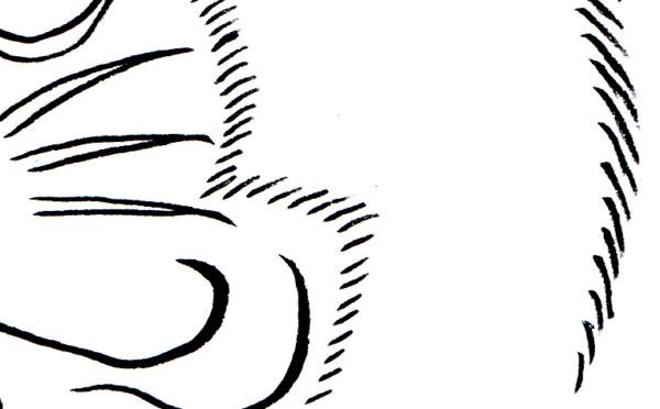 頭浮世絵 描き方 イラスト アニメ 描き方 ドラえもん ukiyoe 浮世絵風 岩崎健児 Kenji Iwasaki
