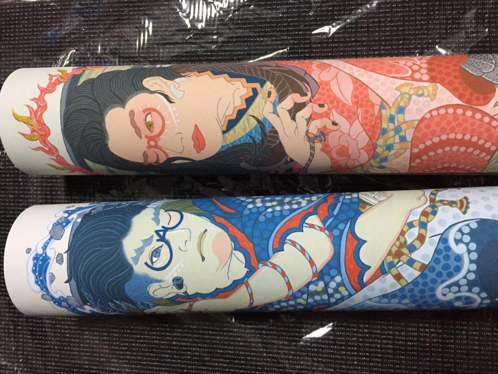 浮世絵 浮世絵風 和風 イラストレーター イラスト かっこいい 落ち着いた雰囲気 岩崎健児 KenjiIwasaki