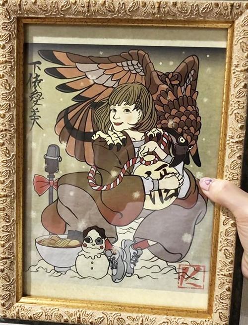 浮世絵 イラストレーター 似顔絵 かわいい かっこいい ポップ 手描き風 楽しい 女性 武士 侍 着物 入れ墨 アーティスト 和風 イラスト 江戸 デジタル 岩崎健児 IWA Kenji Iwasaki